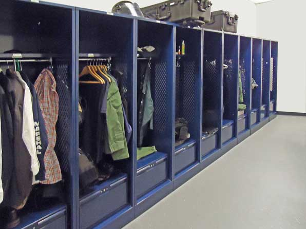 Patriot® Fully Framed Turnout Lockers
