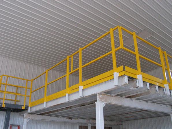 Safety Rails For Mezzanine : Handrail