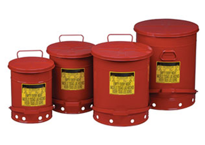 Safety Waste Cans