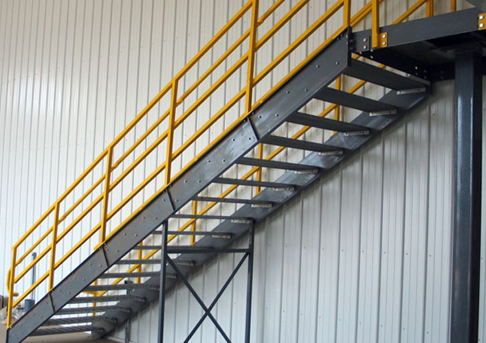 Vertical ladders for Stair design code