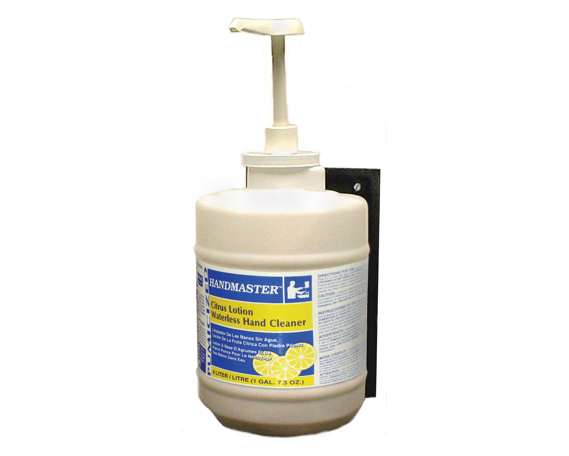 Pumicized Waterless Grit Hand Cleaner/Dispensers