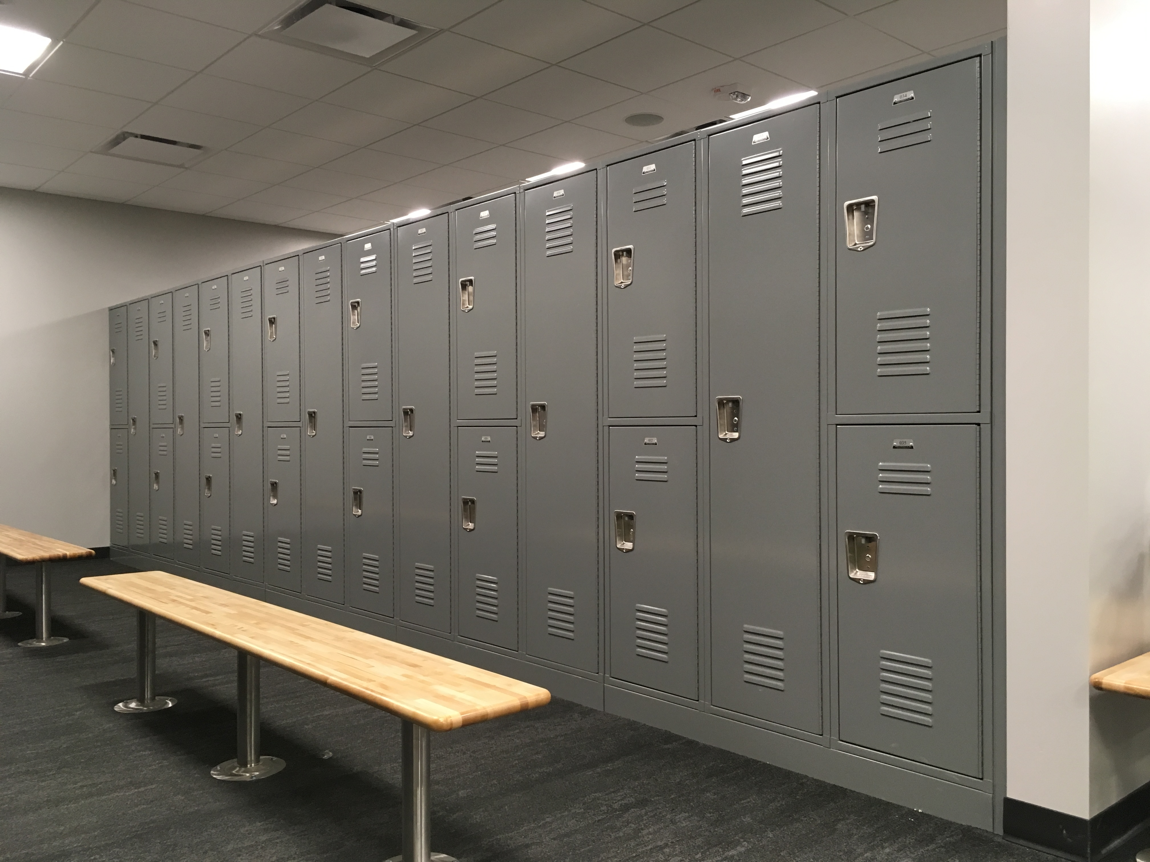 Welded GEN2 Lockers